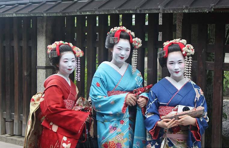 Geisha's in Japan